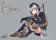 artist:dreadtie headset school_uniform suppressor tagme weapon_to_identify // 5098x3624 // 2.6MB