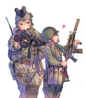 artist:daito headset helmet suppressor tagme weapon:m4 // 875x1000 // 762.0KB