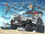 artist:mikelan helicopter tagme vehicle weapon:G36 // 2250x1700 // 4.6MB